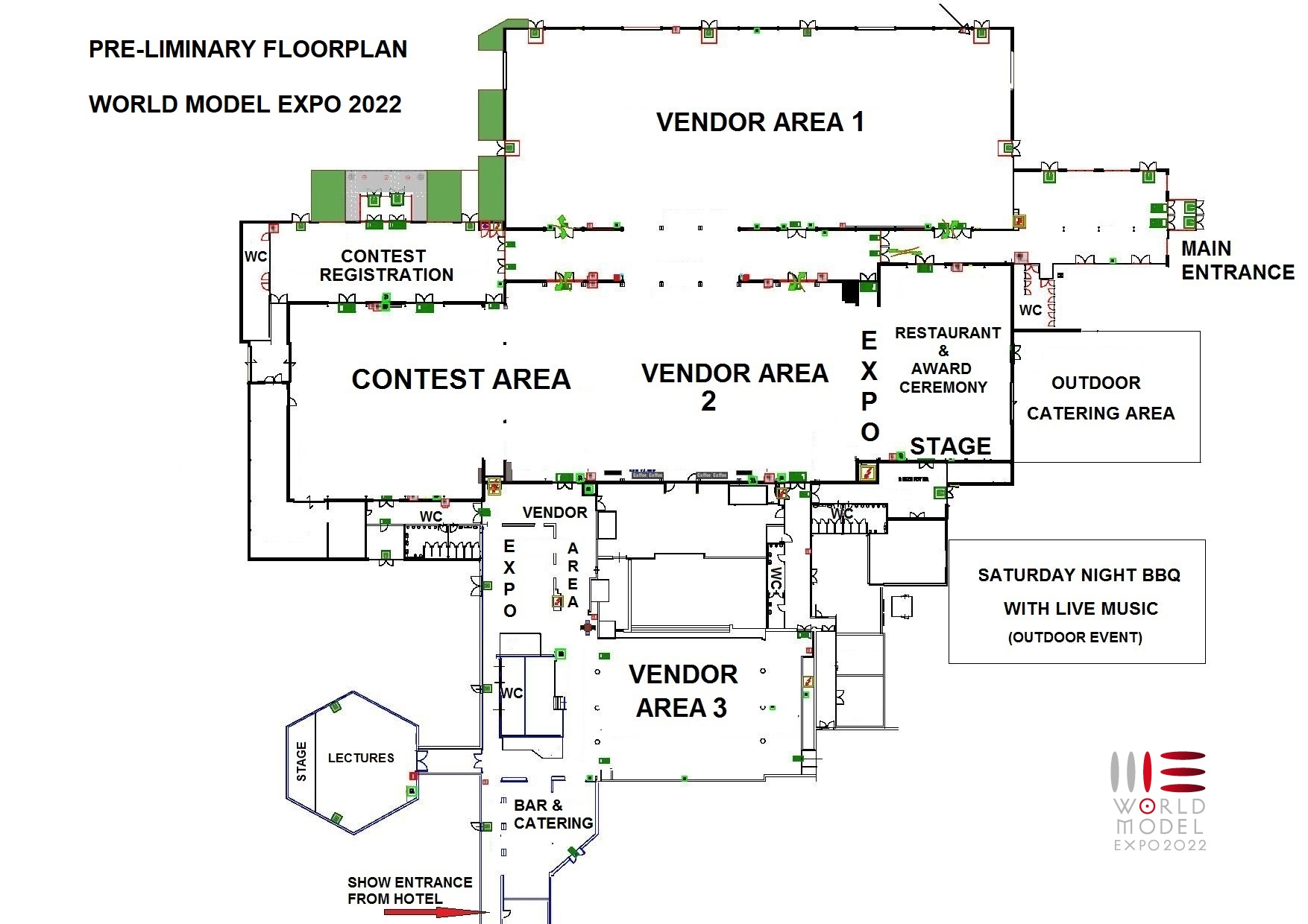 Floorplan World Model Expo Eindhoven 2022